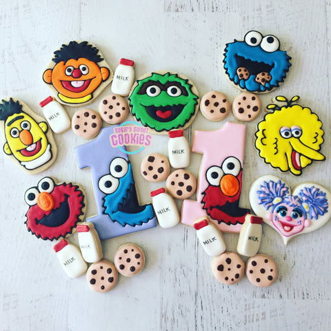 Sesame Street Birthday! (36 cookies)