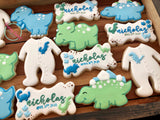 Baby Dino Shower (24 cookies)