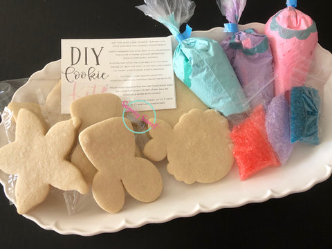 Do it Yourself Cookie Kits-Mermaids