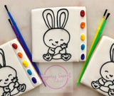 Paint your own Easter bunny! (1XL COOKIE)