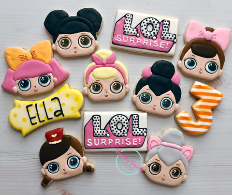 Surprise Dolls! (24 cookies)