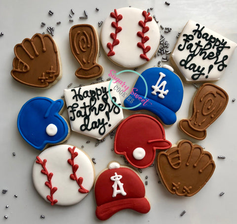 Baseball dad (12 mini cookies)