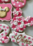 Garden Minnie Mouse (24 cookies)