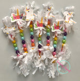 Unicorn Candy Wands (12 per set)