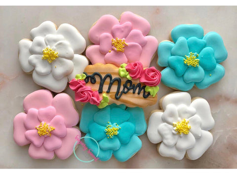 Bouquet for mom (7 cookies)