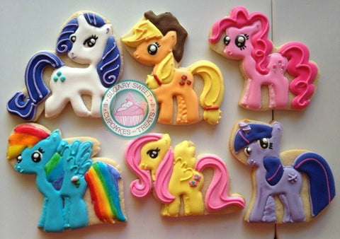 My Little Pony Tales... (24 cookies)