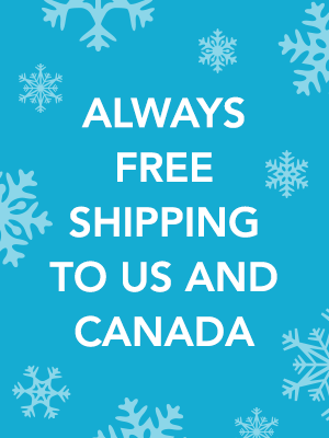 Always Free Shipping to US and Canada