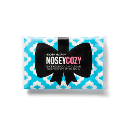 Nosey Cozy Tissues - Blue