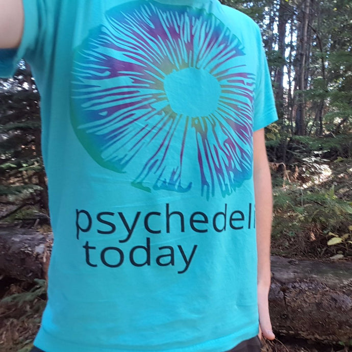 Psychedelics Today TShirt - Turquoise