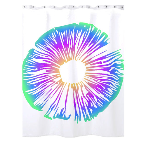 Spore Print Shower Curtains