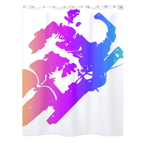 Spaceman Shower Curtain