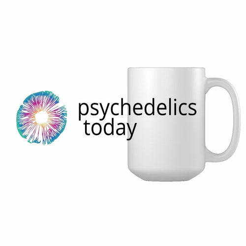 Psychedelics Today Logo Mug - White