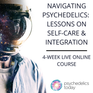 Navigating Psychedelics: 4-Weeks Live Course