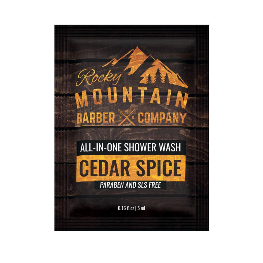 All-In-One Shower Wash | Cedar Spice (Sample Size)