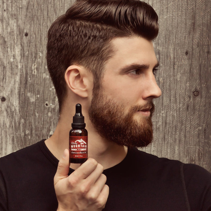 <strong>Cedarwood Beard Oil</strong> <p>100% Natural - Premium, Cold-Pressed 9 Oil Blend </p>