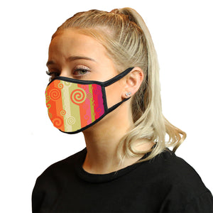 Batik Citrus Cool Shield Face Mask