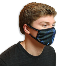 Blue Flames Cool Shield Face Mask