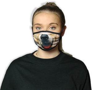 Dog Smile Cool Shield Face Mask