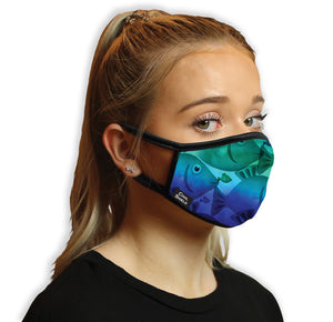 Fish Frenzy Cool Shield Face Mask