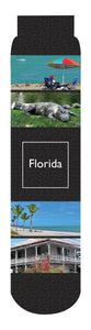 Florida State Crew Socks, Black