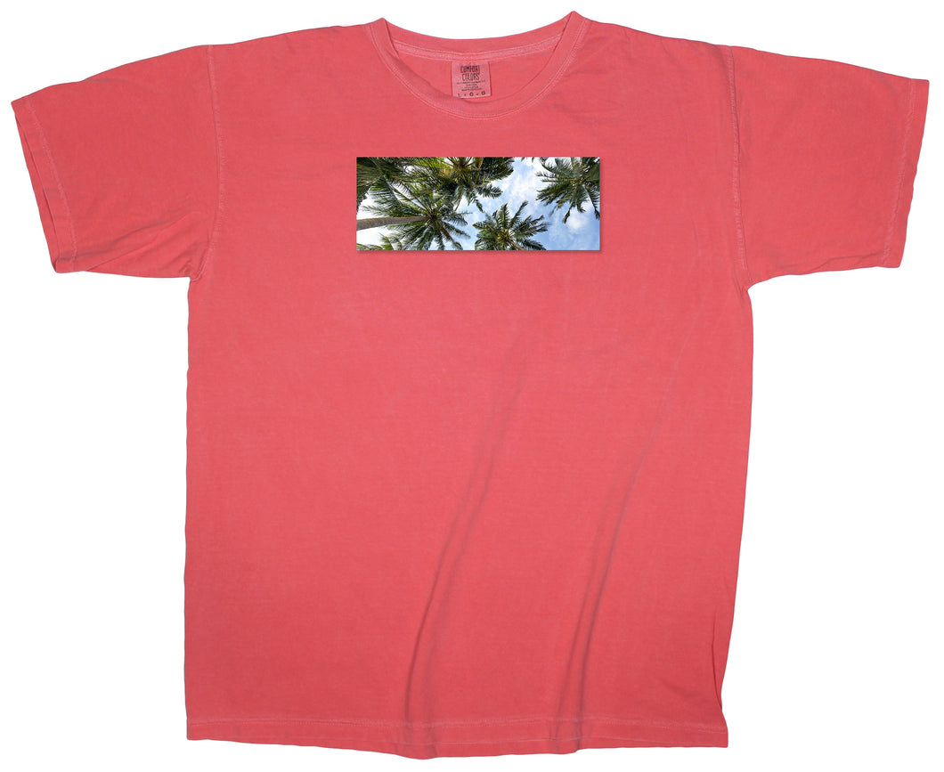 Island Dreaming: Heads Up Palm Tree Patch T-shirt
