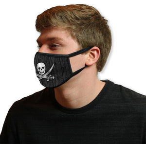 Jolly Roger Cool Shield Face Mask