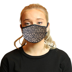 Leopard Cool Shield Face Mask