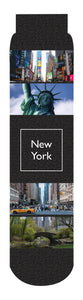 New York State Crew Socks, Black
