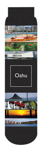 Oahu Crew Socks, Black