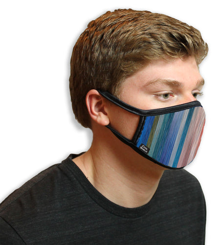 Painted Stripes Cool Shield Face Mask