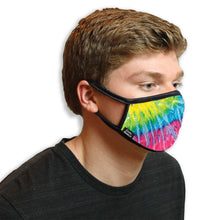 Rainbow Tie Dye Cool Shield Face Mask