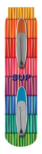 SUP: Stand Up Paddleboard Crew Socks, Multi.