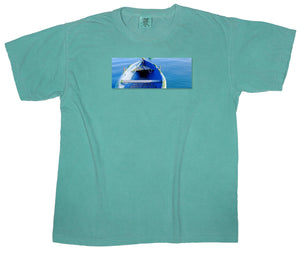 Island Dreaming: Sea Worthy Boat Patch T-shirt