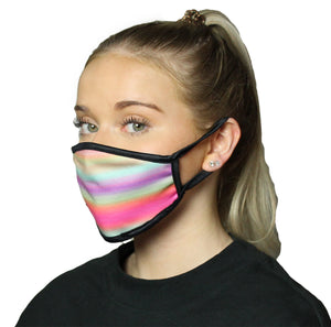 Sunset Cool Shield Face Mask