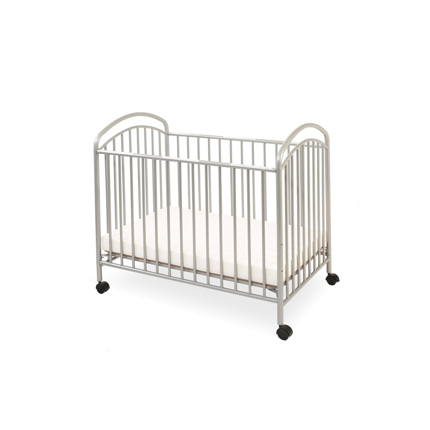 ... Classic Arched Mini/Portable Crib With Mattress, By L.A.Baby,Toddlers  Buy Here ...
