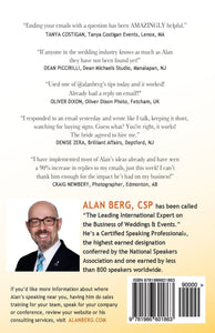 Why Don't They Call Me? 8 Tips for Converting Wedding & Event Inquiries to Sales - Alan Berg