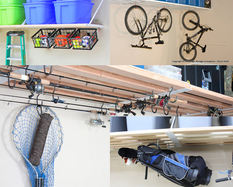 Rhino Shelf Blog | Inexpensive alternatives to bicycle racks and other storage