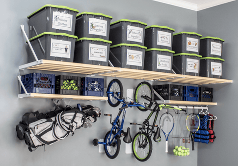 Rhino Shelf is the safest and most structural garage shelving on the market.