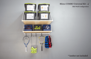 Garage storage shelving for short-term and long-term storage | Rhino Shelf