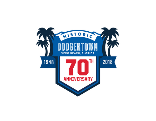 70th Anniversary Historic Dodgertown Patch