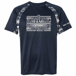 Mens Historic Dodgertown Camouflage Dri-Fit Tee