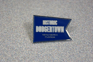 Historic Dodgertown Pennant Lapel Pin