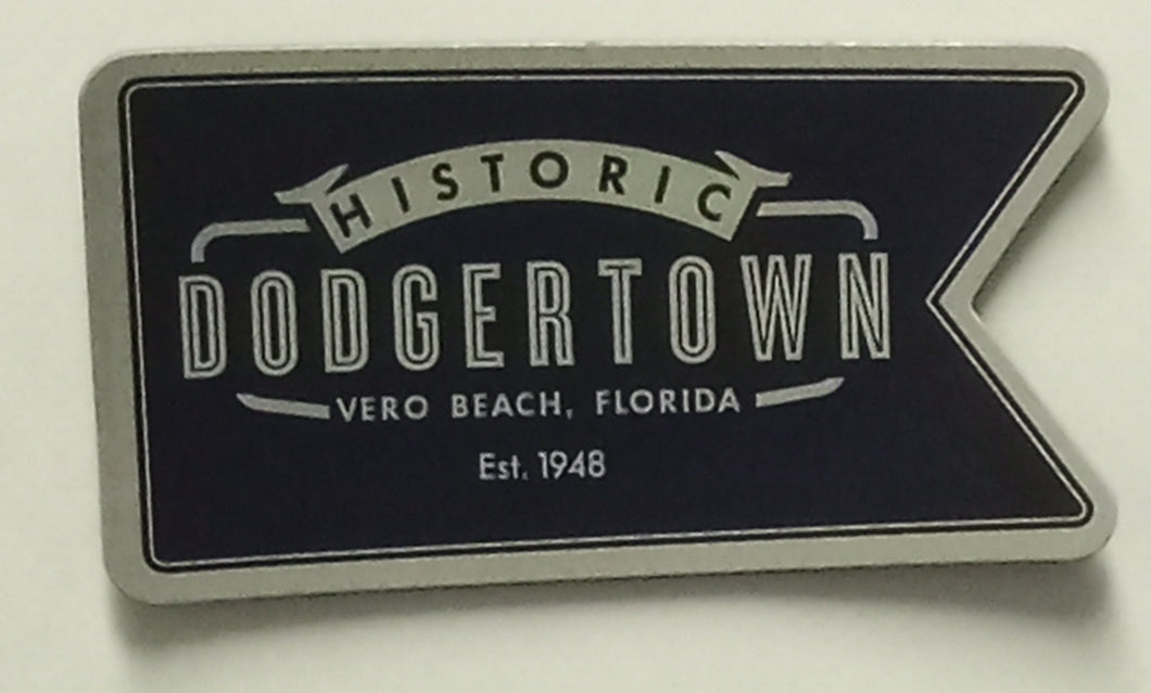 HISTORIC DODGERTOWN PENNANT MAGNET