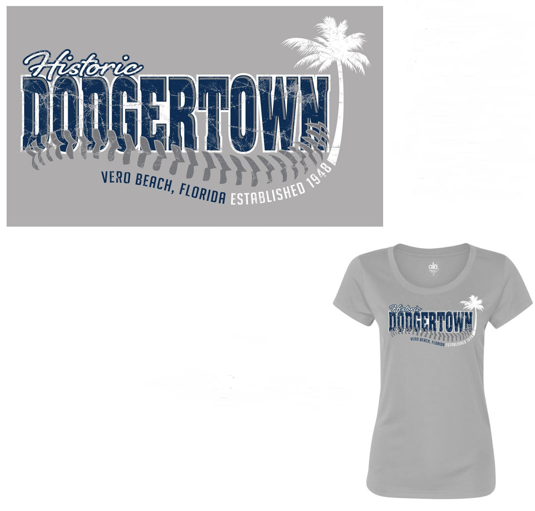 Womens Palm Tree Dri-Fit