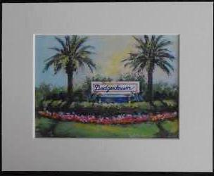 Painting of Historic Dodgertown