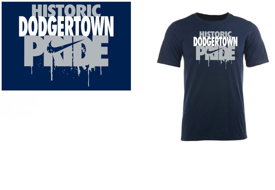 Historic Dodgertown Youth Nike Pride T-shirt Navy