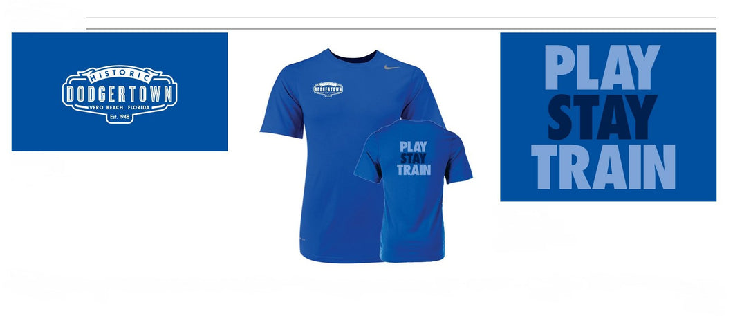 mens PLAY-STAY-TRAIN NIKE T-Shirt
