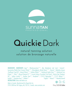 SunnaTan Solution Quickie