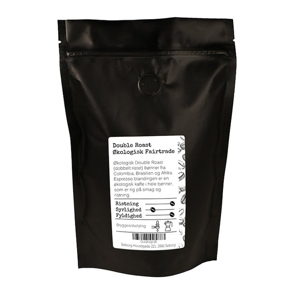 Double Roast Økologisk Fairtrade - 250g