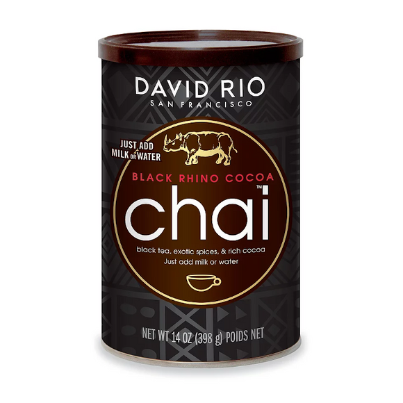 David Rio Chai Black Rhino Cocoa (Special Edition)
